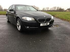 BMW 520d Auto F10 (60 Reg, Wide Screen Sat Nav, Xenon)