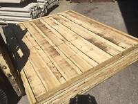 💥Heavy Duty Timber Wayneylap Fence Panels New • Tanalised