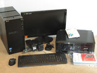 Acer Aspire M3910/2 computer with Epson printer/scanner