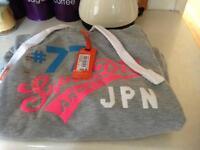 New superdry hoodie large