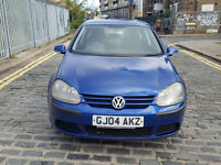 2004 Volkswagen Golf 1.4 Blue 5dr Hatchback Manual Petrol MOT Jan2017 fullservice history 2owners