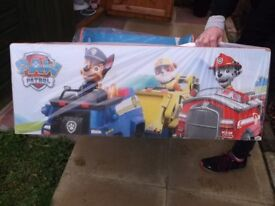 """Childrens Bed, """"Paw Patrol"""" Themed."""