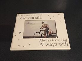 Loved you.. Picture frame