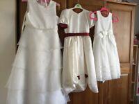 Bridesmaids Dresses/Play Clothes