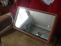 Bathroom Cabinet (real wood) Good Condition