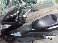 Honda PCX 125cc Black 2012 13k Milage - £1200ono