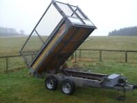 Bateson Tipping Trailer 4 new tyres