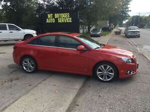 2012 Chevrolet Cruze LT Turbo+ w/1SB London Ontario image 6