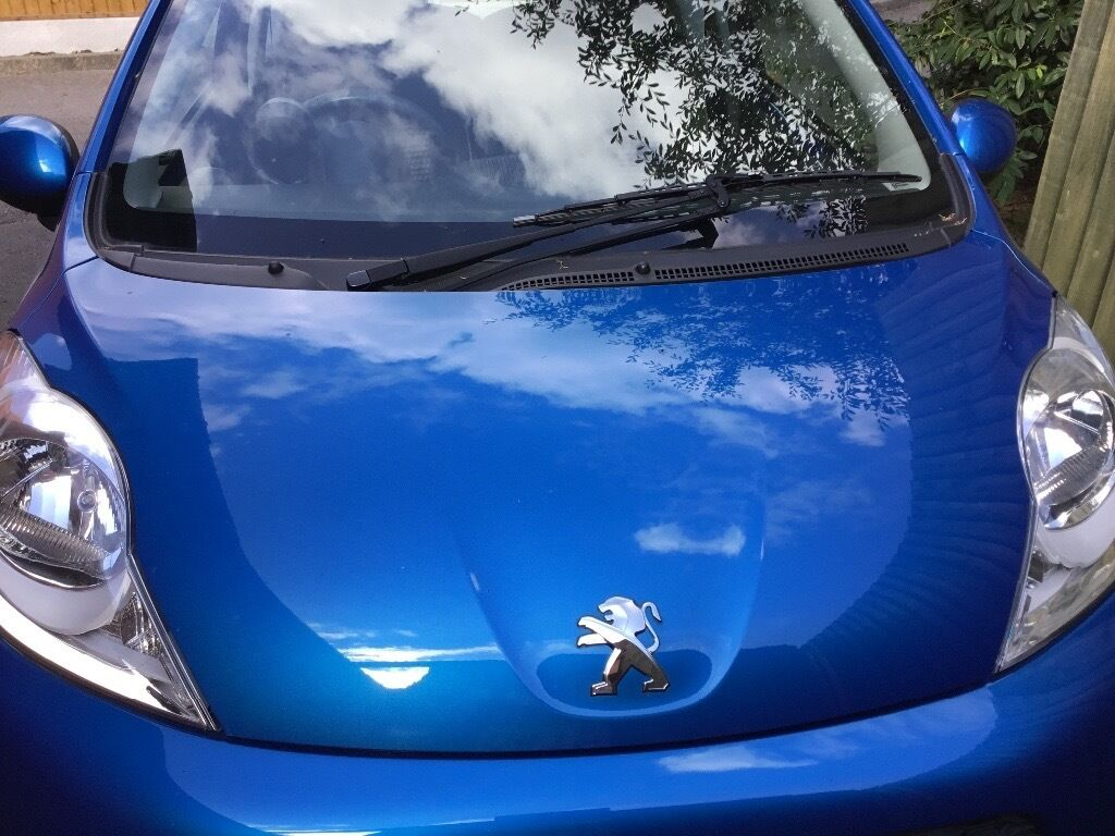 Car colour match by registration - Blue Peugeot 107 Car Active 1000cc 2014 Reg With Exceptional Low Mileage Less Than 2000 Miles In Hinckley Leicestershire Gumtree