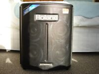 Roland BA330 portable mains/battery amp and case