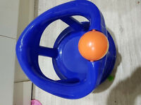 Blue Swivel Bath Seat for Baby