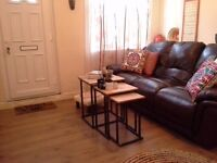 two bed house in loughborough close to University only £525 part furnished