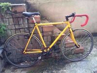 Fuji Fixie/ Fixed Gear/ Single Speed Racer Bike...With Helmet/Kryptonite Lock.... £140 ONO