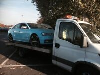 Car recovery car movement and so on long distance job take on