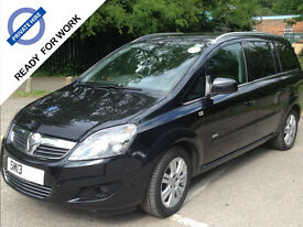 PCO Ready 7 Seater 2013, Vauxhall, Zafira, 1.7CDTi 16v MPV 5d Manual, Diesel, NAV, Tinted Windows