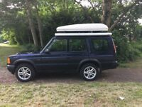 Wonderful Land Rover Discovery, camper, 4x4: TD% ES, Airtop tent and Fiam side awning