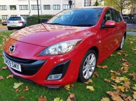 MAZDA 3 Diesel Navigation/ Bluetooth, 1 owner, 130k warranted mileageF/S/H , MOT until March 2018,