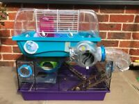 Hamster cages x2 plus lots of accessories