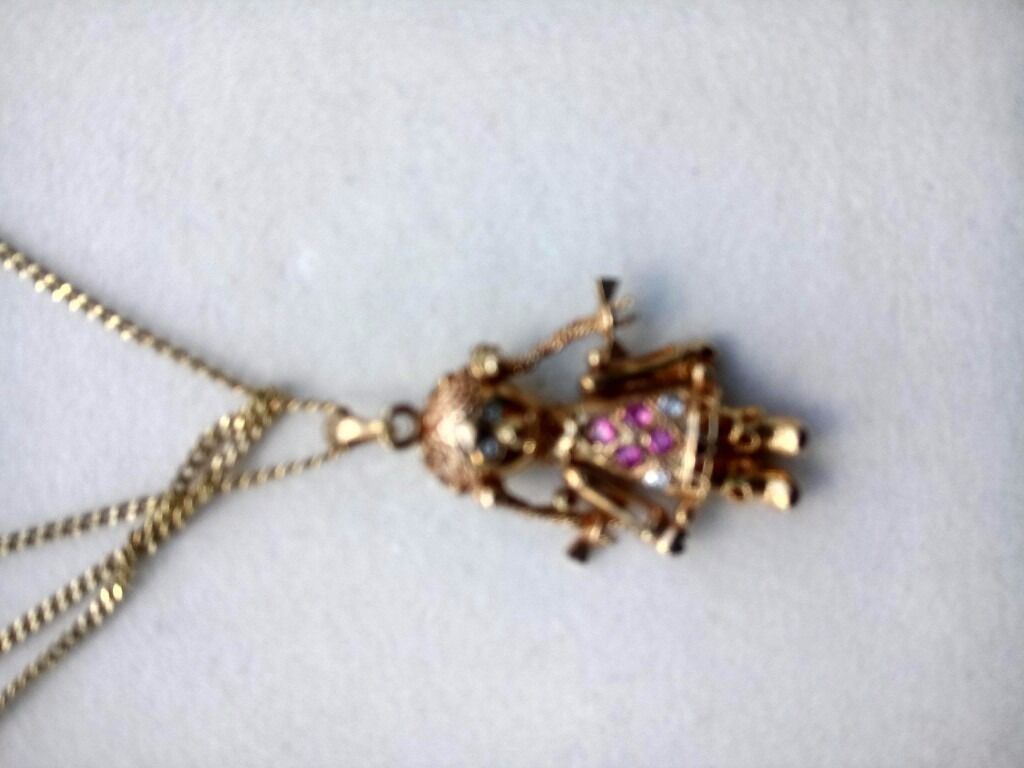 Gold rag doll necklace in st austell cornwall gumtree gold rag doll necklace mozeypictures Images