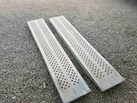 Genuine ifor williams trailer loading ramps 8ft long