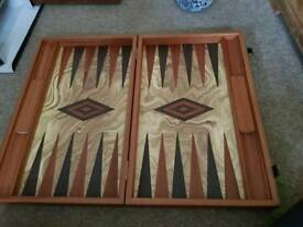 Handcrafted Backgammon Set from Manopoulos