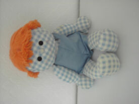 "Rag doll. Vintage/collectable ""Softees Easy to Love"" rag doll."