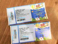 Rize Festival Saturday, Chelmsford - 3x GA tickets