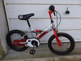 """Boys 6"""" wheeled bike"""