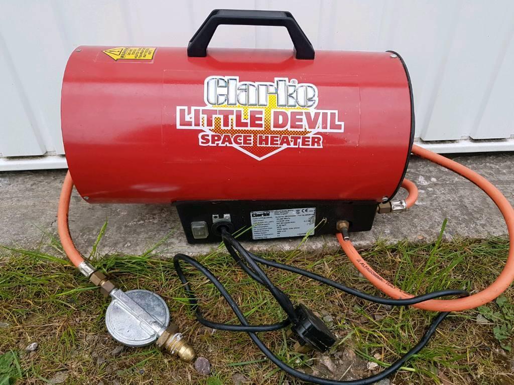 Clarke little devil space heater