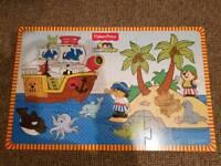 24 piece Fisher Price pirate jigsaw