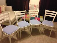 White painted chairs SOLD!