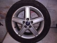 mk2 ford focus alloy