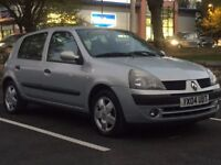 RENAULT CLIO 1.2 EXPRESSION 2004(04 REG)**£799**LOW MILES*LONG MOT*F/S/H*5 DOOR*PX WELCOME*DELIVERY