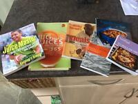 Cookery and juicing books