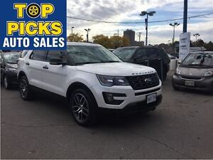 2016 Ford Explorer SPORT, NAVIGATION, ECO BOOST, PANORAMIC SUNRO