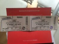 2 x sparks tickets for London 02 Shepherd's Bush Empire sold out show