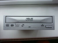 CD/DVD RW ASUS model no.DRW-1814BL for PC silver