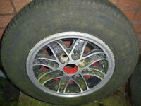 Cosmic alloys 13 inch to fit Chevette Polo Corsa etc