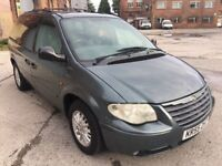 2005 (55) CHRYSLER VOYAGER 2.8 LX AUTOMATIC, DIESEL, 7 SEATER MPV, FULL LEATHER, LONG MOT !!