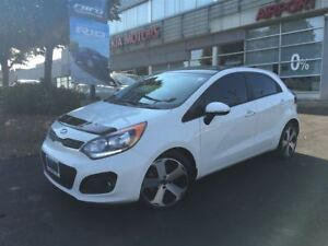 2013 Kia Rio SX/NAV/LEATHER/ROOF/BACKUP CAMERA