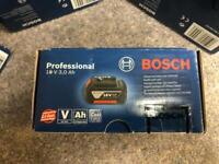 Bosch 18V 3.0Ah battery new (4 in total)