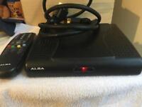 Alba freeview box
