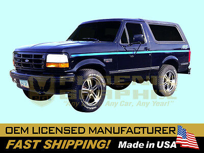 - 1991 1992 Ford NITE Night Truck F150 Bronco Cab Bed Decals Stripes Graphics Kit