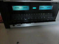 Vintage JVC JR-S100 Stereo Receiver perfect working order T/T M/M input