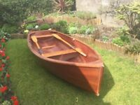 New, beautifully built , 10ft. skiff – a dream to row