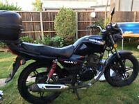 Ideal 1st bike 125cc in very good condition.