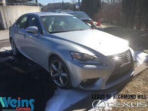 2014 Lexus IS 350 AWD | NAVI | 1 OWNER