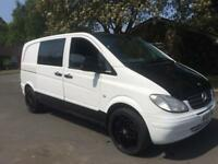 MERCEDES VITO 2.0 CDI DIESEL TURBO WHITE HPI CLEAR £1500!!!!!