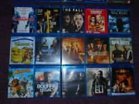 Bluray sets and movies