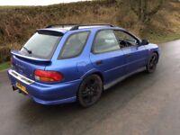 Subaru Impreza uk turbo wrx